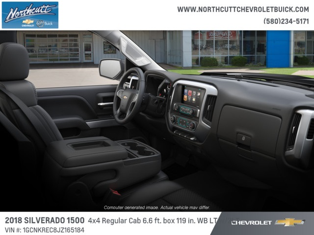 2018 Silverado 1500 Regular Cab 4x4, Pickup #TJ070 - photo 6