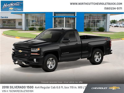 2018 Silverado 1500 Regular Cab 4x4, Pickup #TJ070 - photo 1