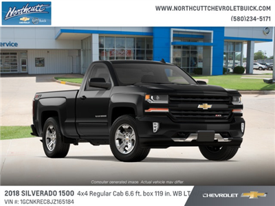2018 Silverado 1500 Regular Cab 4x4, Pickup #TJ070 - photo 4