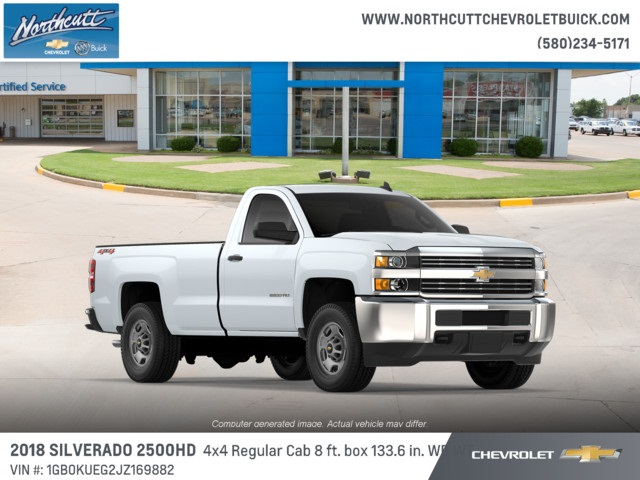 2018 Silverado 2500 Regular Cab 4x4 Cab Chassis #TJ075 - photo 3