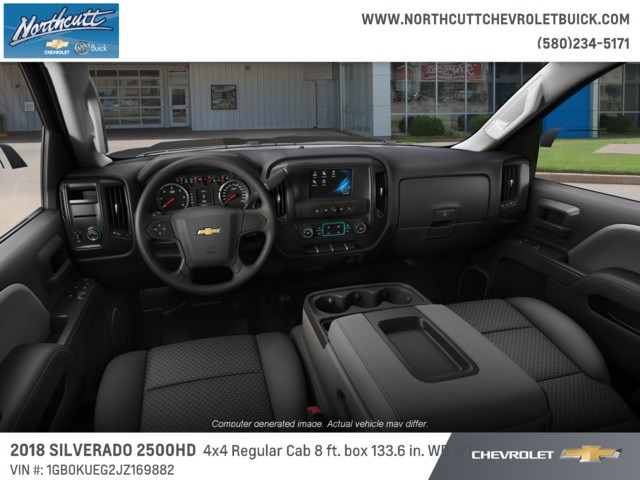 2018 Silverado 2500 Regular Cab 4x4 Cab Chassis #TJ075 - photo 4
