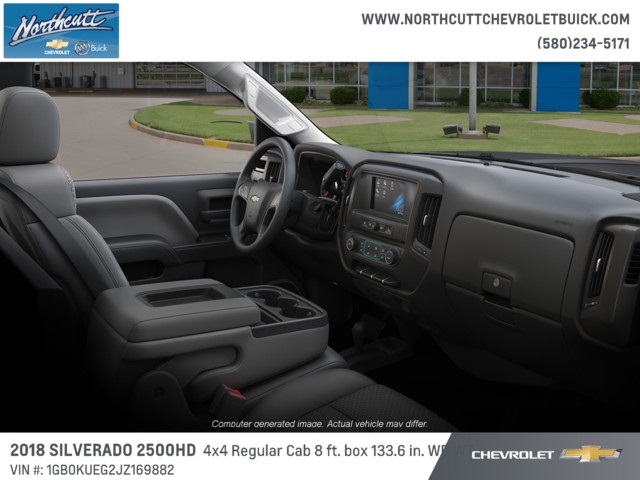 2018 Silverado 2500 Regular Cab 4x4 Cab Chassis #TJ075 - photo 5