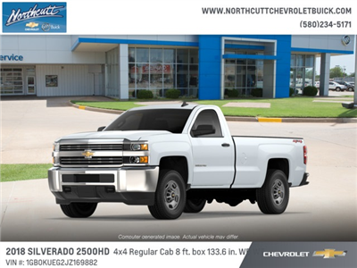 2018 Silverado 2500 Regular Cab 4x4 Cab Chassis #TJ075 - photo 1