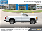 2018 Silverado 2500 Regular Cab 4x4 Cab Chassis #TJ075 - photo 2