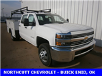 2018 Silverado 3500 Crew Cab DRW, Service Body #TJ078 - photo 1