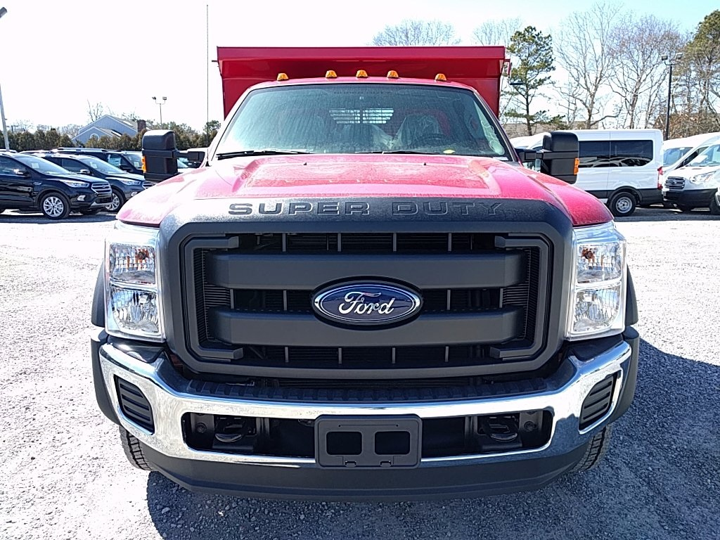 2016 F-550 Regular Cab DRW, Rugby Eliminator LP Steel Dump Body #16402 - photo 3
