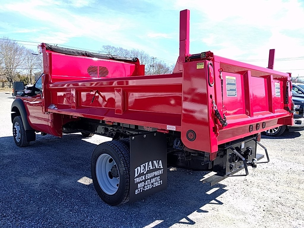 2016 F-550 Regular Cab DRW, Rugby Eliminator LP Steel Dump Body #16402 - photo 2