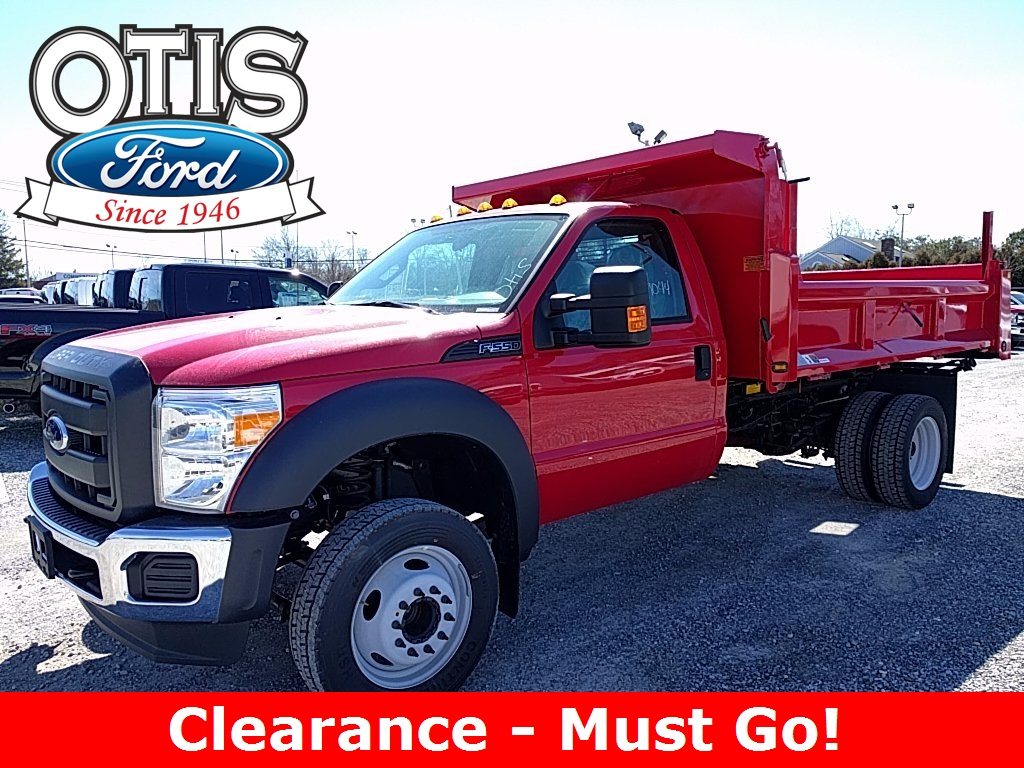 2016 F-550 Regular Cab DRW, Rugby Eliminator LP Steel Dump Body #16402 - photo 1
