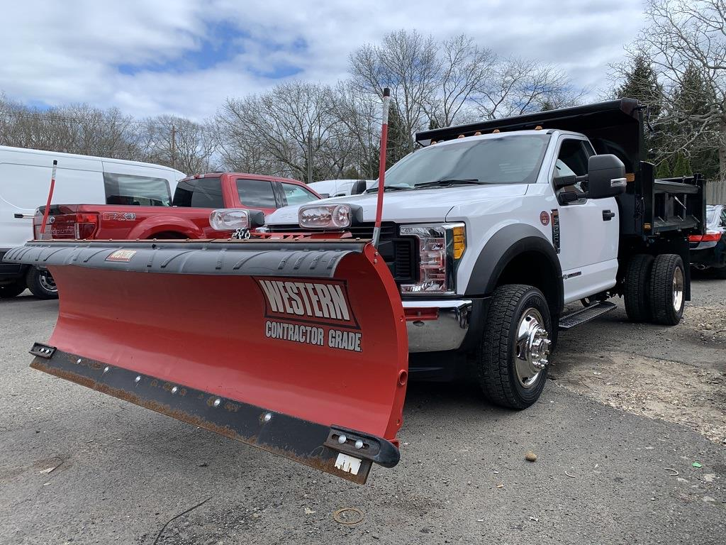 2017 F-550 Regular Cab DRW 4x4,  Dump Body #17206 - photo 4