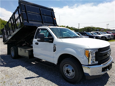 2017 F-350 Regular Cab DRW, Landscape Dump #17618 - photo 4