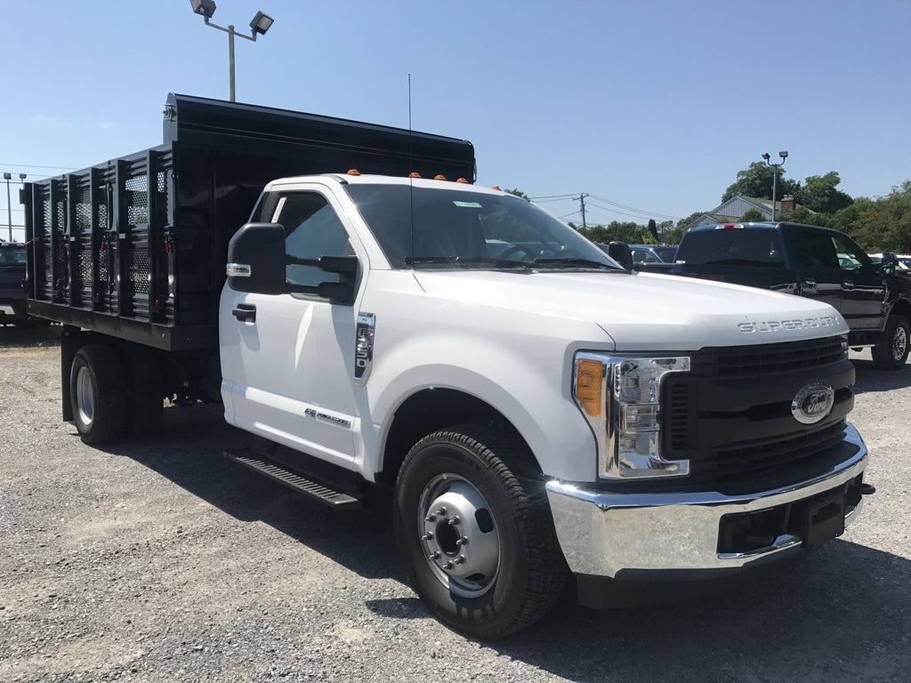 2017 F-350 Regular Cab DRW 4x2,  Rugby Landscape Dump #17735 - photo 4