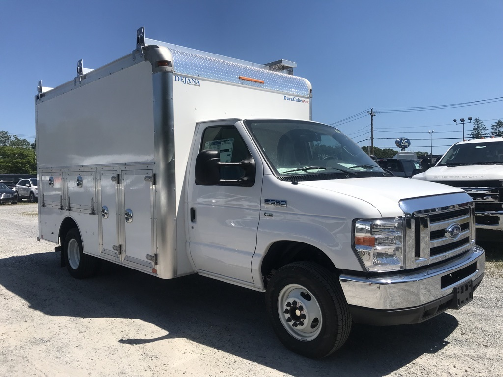 2018 E-350 4x2,  Dejana Truck & Utility Equipment Service Utility Van #18618 - photo 4