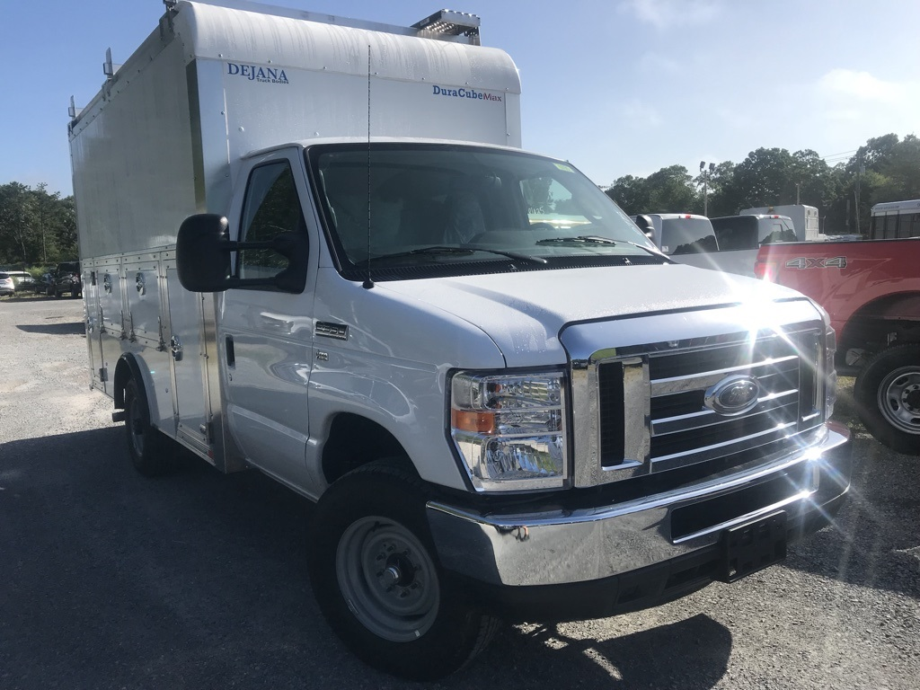 2018 E-350 4x2,  Dejana Truck & Utility Equipment Service Utility Van #18643 - photo 4