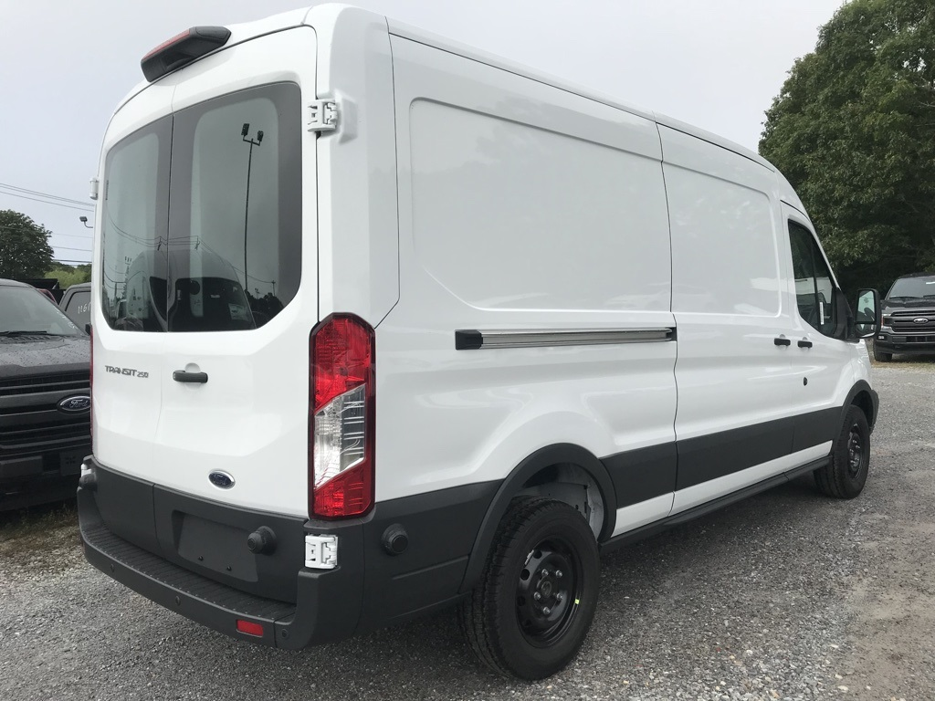 2018 Transit 250 Med Roof 4x2,  Empty Cargo Van #18665 - photo 5