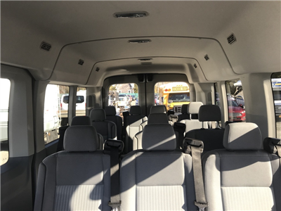 2017 Transit 350 Med Roof, Passenger Wagon #29896 - photo 8