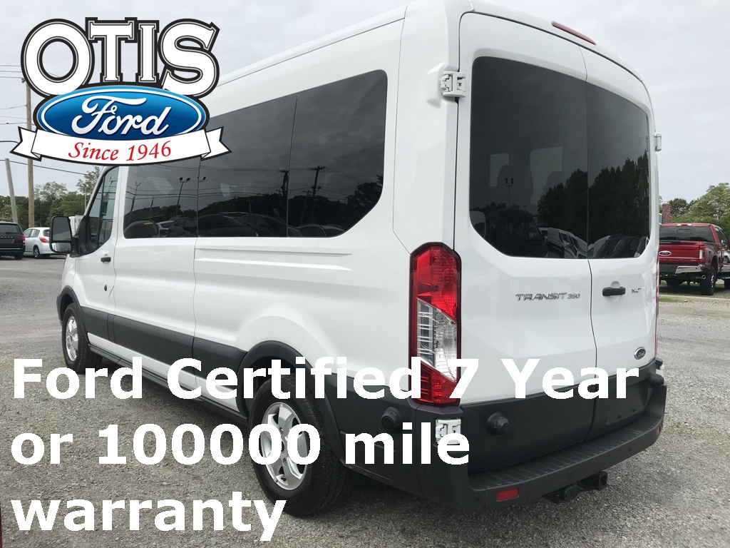 2017 Transit 350 Med Roof 4x2,  Passenger Wagon #30125 - photo 2