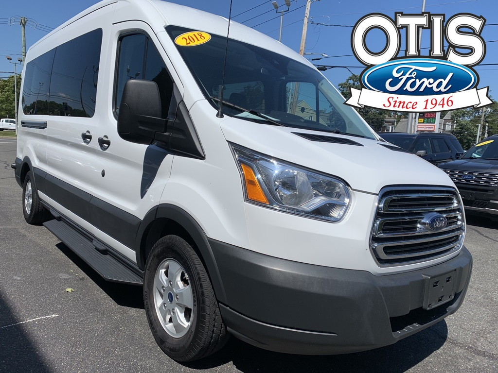 2018 Ford Transit 350 Med Roof 4x2, Passenger Wagon #31932 - photo 1