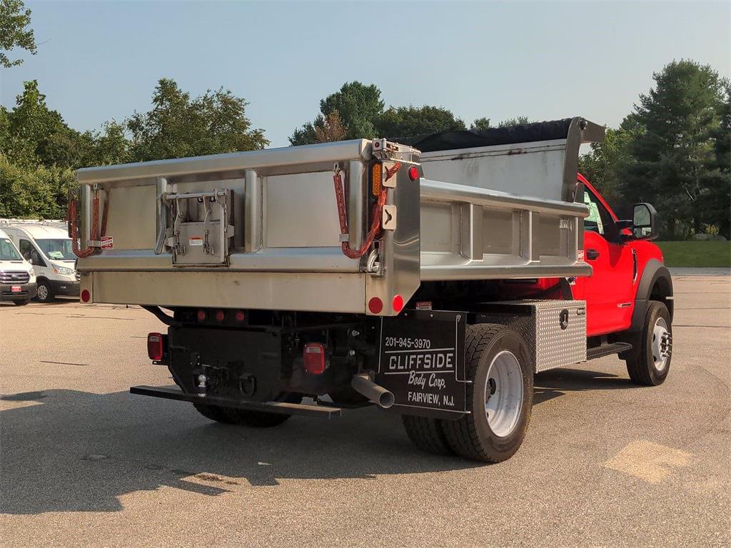 2021 Ford F-600 Regular Cab DRW 4x4, Dump Body #0041758F - photo 1