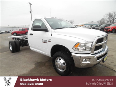 2018 Ram 3500 Regular Cab DRW, Cab Chassis #1876 - photo 1