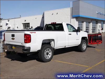 2017 Silverado 3500 Regular Cab 4x4, Pickup #175494 - photo 2
