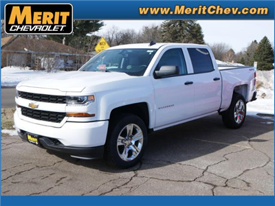 2018 Silverado 1500 Crew Cab 4x4, Pickup #185398 - photo 1