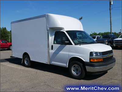 2018 Express 3500 4x2,  Supreme Spartan Cargo Cutaway Van #185583 - photo 4