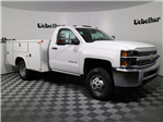 2017 Silverado 3500 Regular Cab DRW 4x4, Reading Classic II Steel Service Body #CT7781 - photo 3