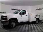2017 Silverado 3500 Regular Cab DRW 4x4, Reading Classic II Steel Service Body #CT7781 - photo 6