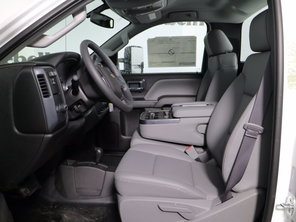 2017 Silverado 3500 Regular Cab DRW 4x4,  Reading Classic II Steel Service Body #CT7782 - photo 9