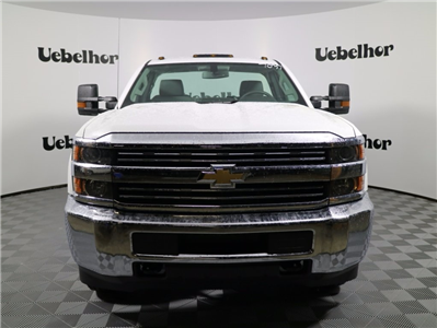 2017 Silverado 3500 Regular Cab DRW 4x4,  Reading Classic II Steel Service Body #CT7782 - photo 4