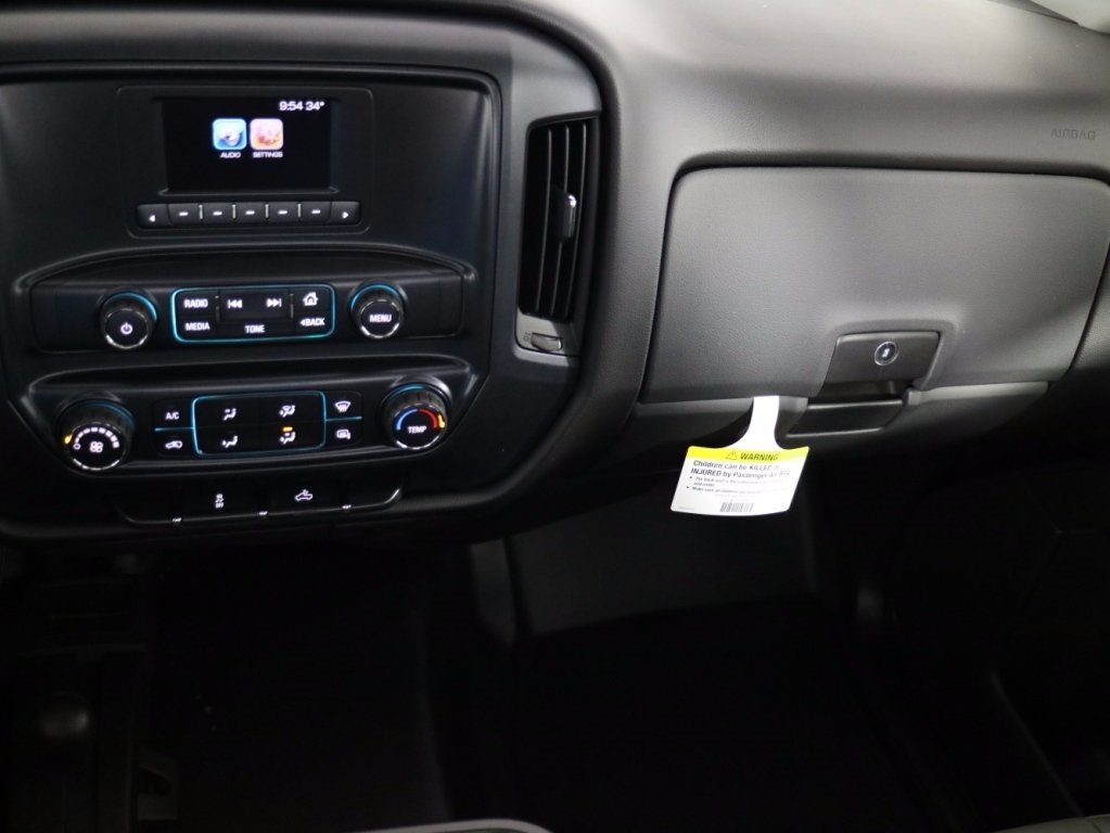2017 Silverado 3500 Regular Cab DRW 4x4,  Reading Classic II Steel Service Body #CT7825 - photo 12
