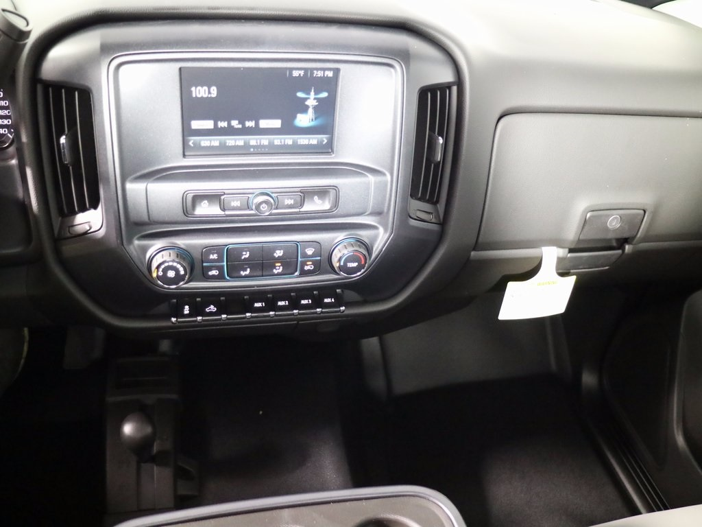 2017 Silverado 3500 Regular Cab DRW 4x4,  Reading Classic II Steel Service Body #CT7963 - photo 12