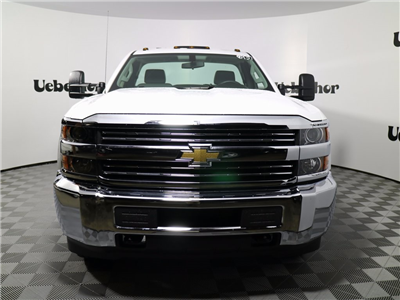 2017 Silverado 3500 Regular Cab DRW 4x4,  Reading Classic II Steel Service Body #CT7963 - photo 5