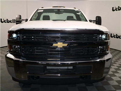 2017 Silverado 3500 Regular Cab DRW 4x4,  Reading Classic II Steel Service Body #CT7980 - photo 4