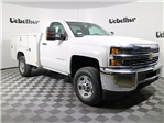 2017 Silverado 2500 Regular Cab, Reading SL Service Body #CT8218 - photo 1