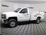 2017 Silverado 2500 Regular Cab, Reading SL Service Body #CT8218 - photo 6