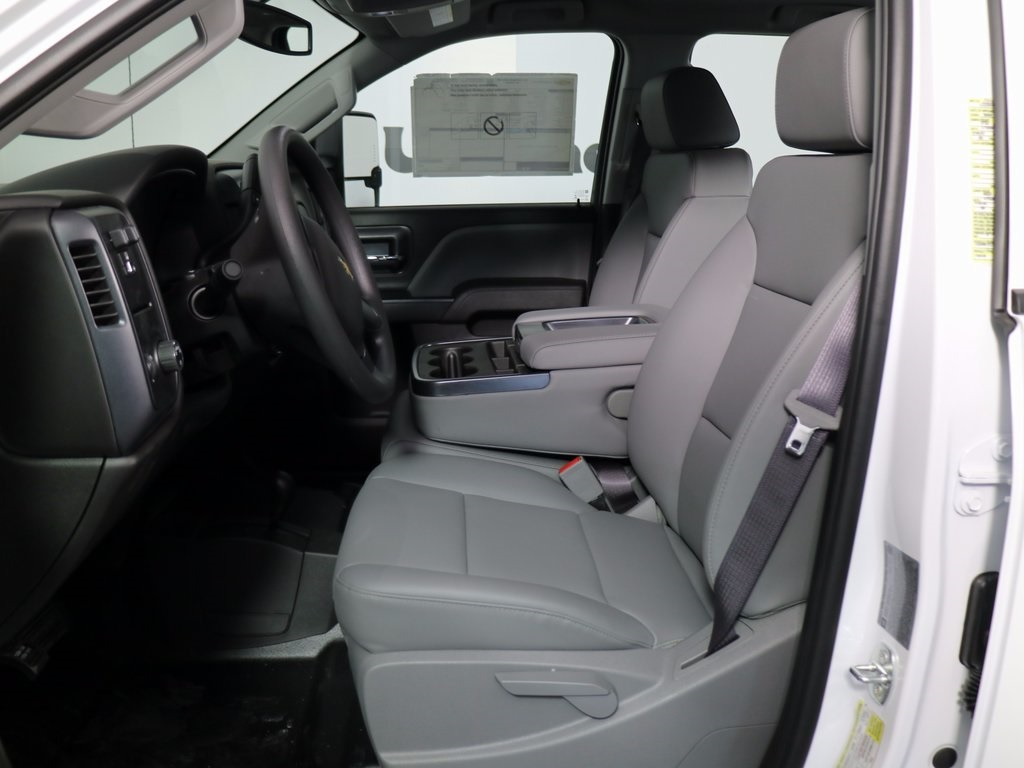 2017 Silverado 3500 Crew Cab DRW 4x4, Reading Classic II Steel Service Body #CT8221 - photo 11