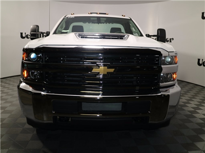 2017 Silverado 3500 Regular Cab DRW 4x4,  Reading Classic II Steel Service Body #CT8571 - photo 6
