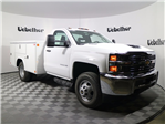 2017 Silverado 3500 Regular Cab DRW 4x4,  Reading Classic II Steel Service Body #CT8571 - photo 5