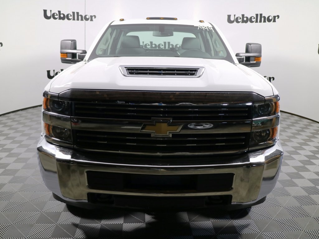 2017 Silverado 3500 Crew Cab DRW, Reading Classic II Steel Service Body #CT8594 - photo 3