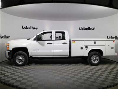2018 Silverado 2500 Double Cab, Reading Spacemaker Service Body #T317 - photo 1