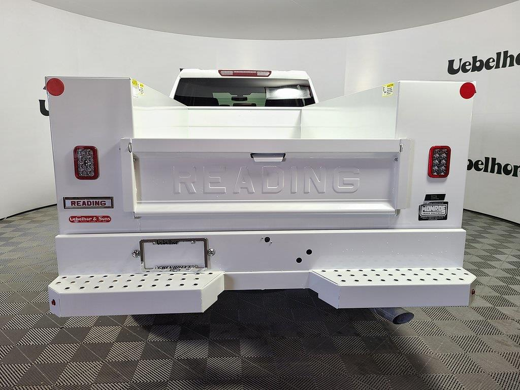 2021 Chevrolet Silverado 2500 Crew Cab 4x2, Reading SL Service Body #ZT10273 - photo 2
