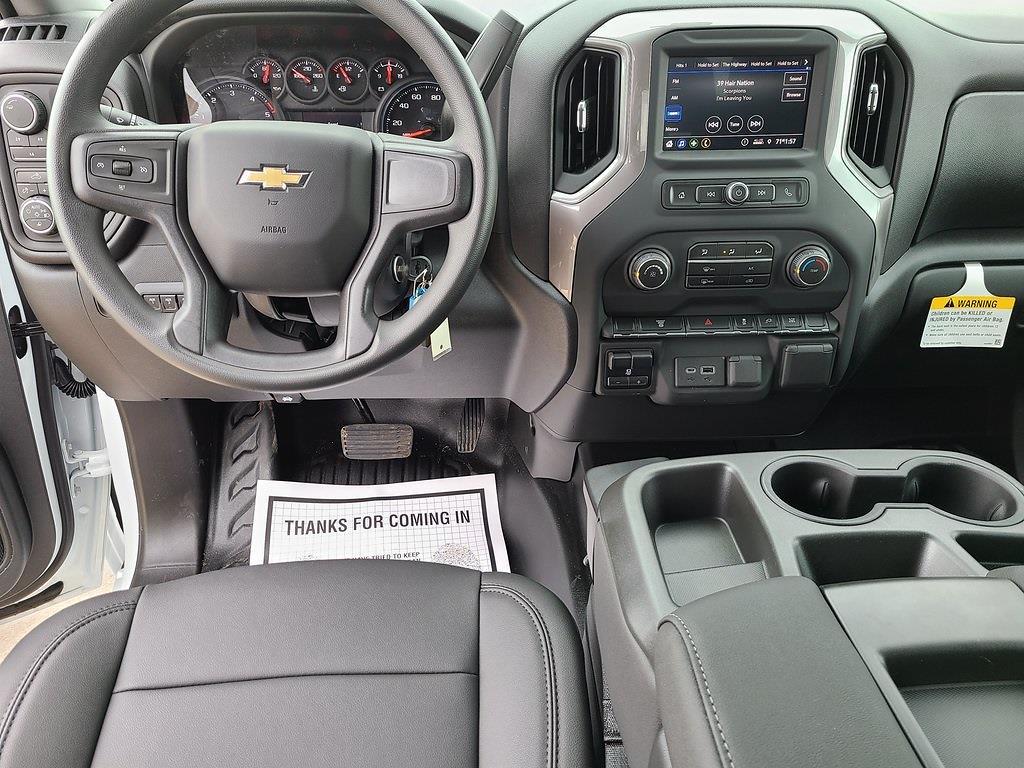 2021 Chevrolet Silverado 3500 Crew Cab 4x4, Reading Classic II Steel Service Body #ZT10358 - photo 11