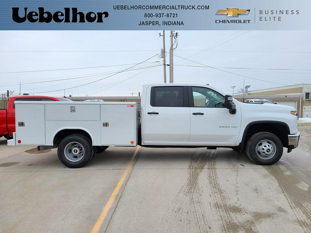 2021 Chevrolet Silverado 3500 Crew Cab 4x4, Reading Service Body #ZT10396 - photo 1