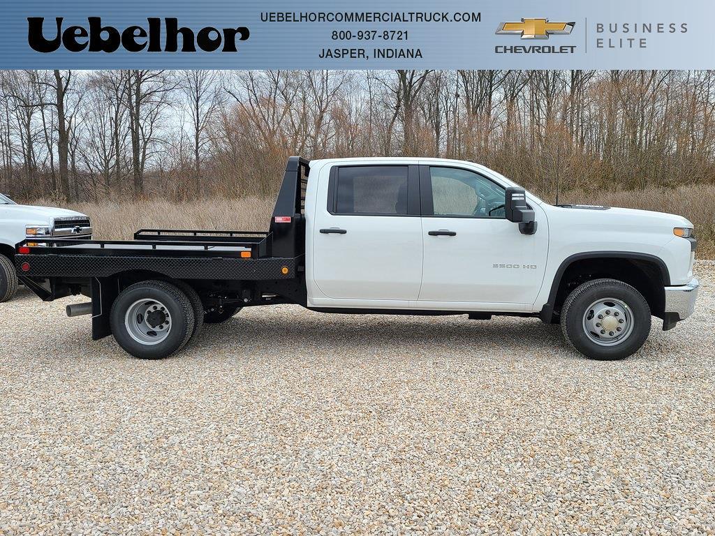 2021 Chevrolet Silverado 3500 Crew Cab 4x4, Hillsboro Platform Body #ZT10516 - photo 1