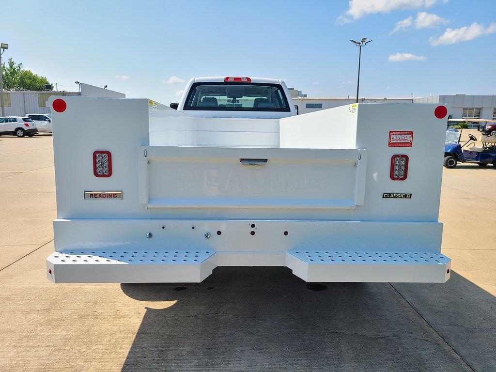2021 Silverado 6500 Crew Cab DRW 4x4,  Reading Classic II Steel Service Body #ZT10826 - photo 2