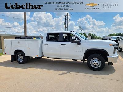 2021 Chevrolet Silverado 3500 Crew Cab 4x4, Reading Classic II Steel Service Body #ZT10868 - photo 1