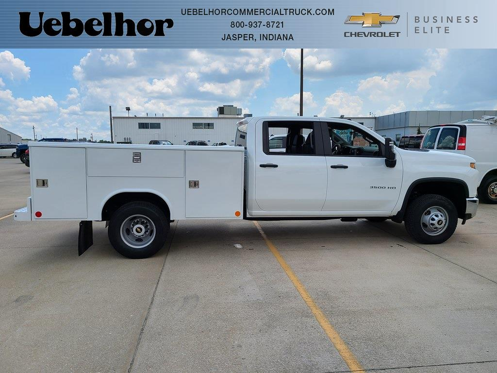 2021 Chevrolet Silverado 3500 Crew Cab 4x4, Reading Classic II Steel Service Body #ZT10872 - photo 1