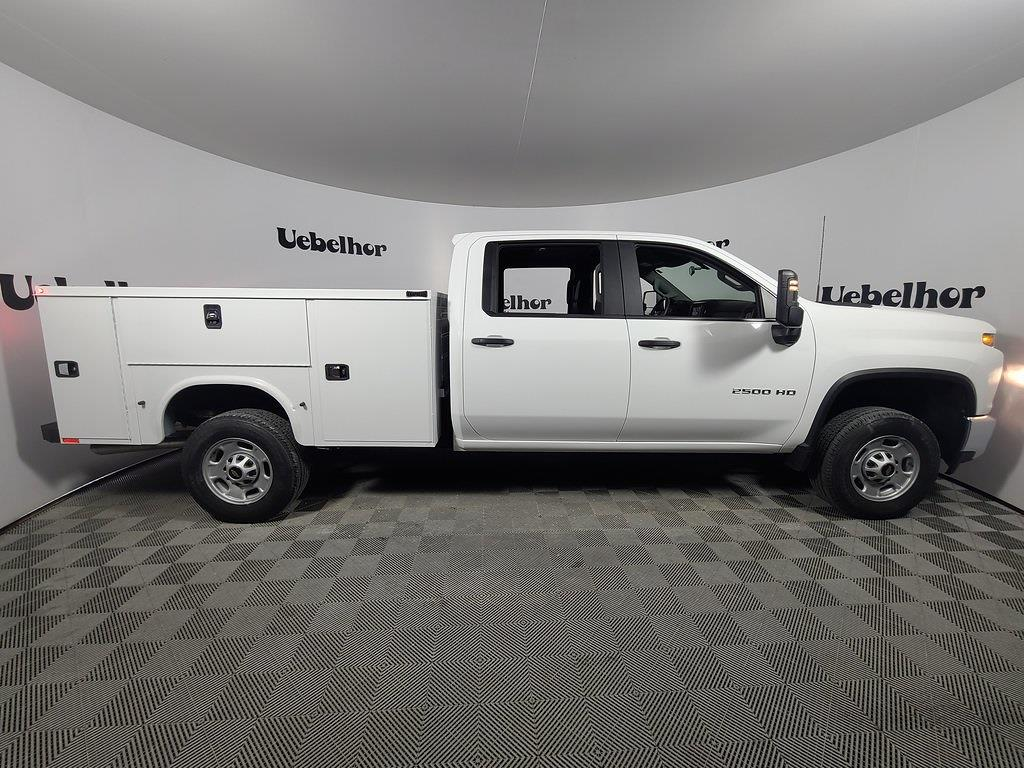 2021 Chevrolet Silverado 2500 Crew Cab 4x2, Knapheide Steel Service Body #ZT11030 - photo 3