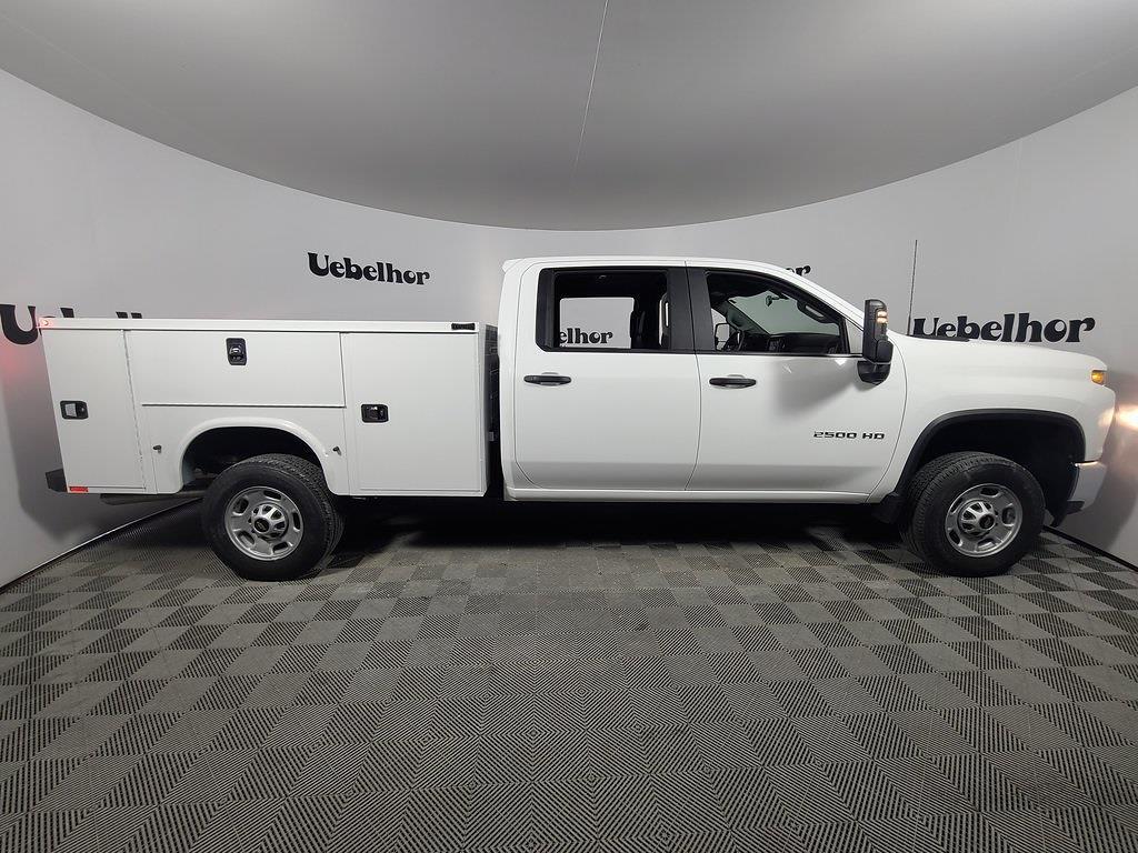 2021 Chevrolet Silverado 2500 Crew Cab 4x2, Knapheide Steel Service Body #ZT11033 - photo 3